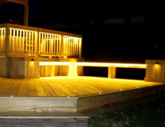 Aurora Deck lighting