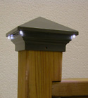 Aurora Deck Lighting - Eclipse LED Post Light