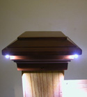 Aurora Deck Lighting - Nova LED Post Light